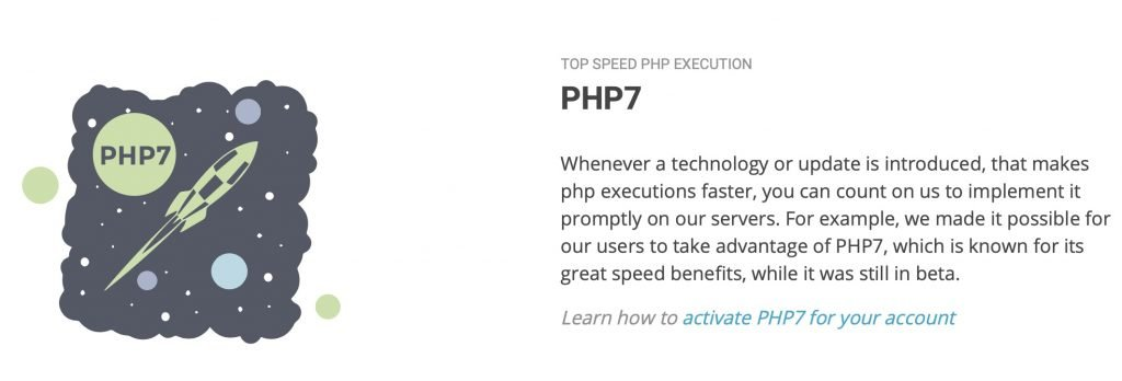 SiteGround PHP 7.3