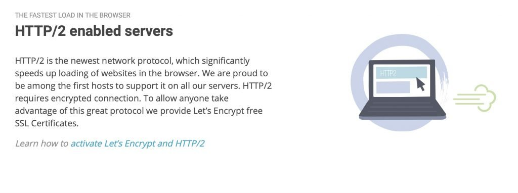HTTP/2 enabled servers